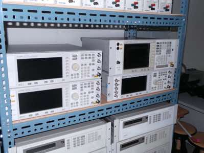 RF test gear and power supplies